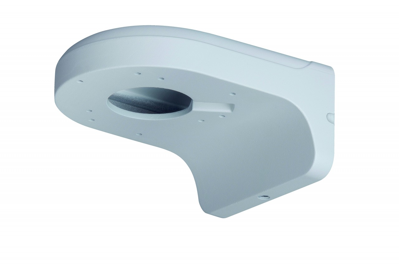 TURM Wandmontage Halterung aus Aluminium für Dome Kameras. Ideal auch für Kabelmanagement