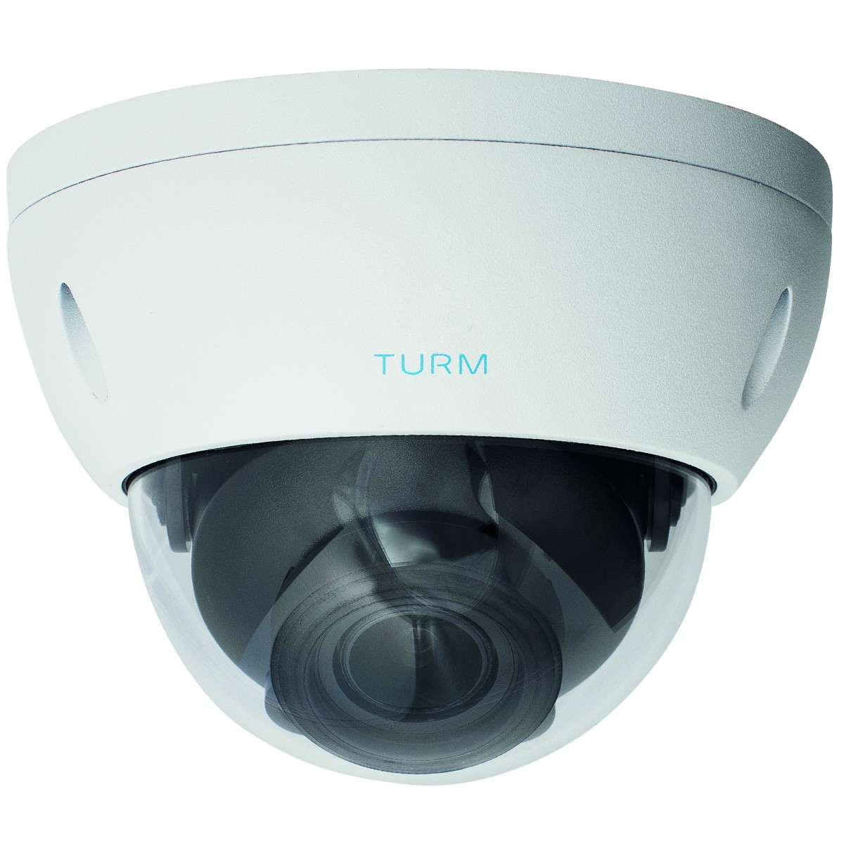 TURM HDCVI Professional 2MP Dome Kamera, 30m Nachtsicht mit Starlight, 2,7-13,5mm Motorzoom mit WDR
