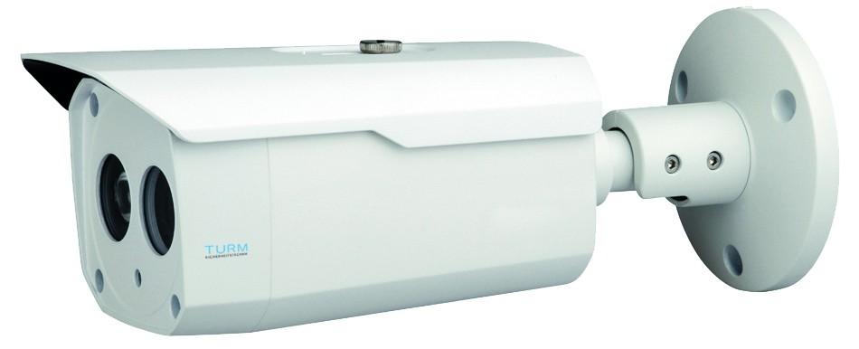 TURM HDCVI Lite 2 MP Bullet Kamera, 80m Nachtsicht, 3.6mm Objektiv mit 90° Blickwinkel