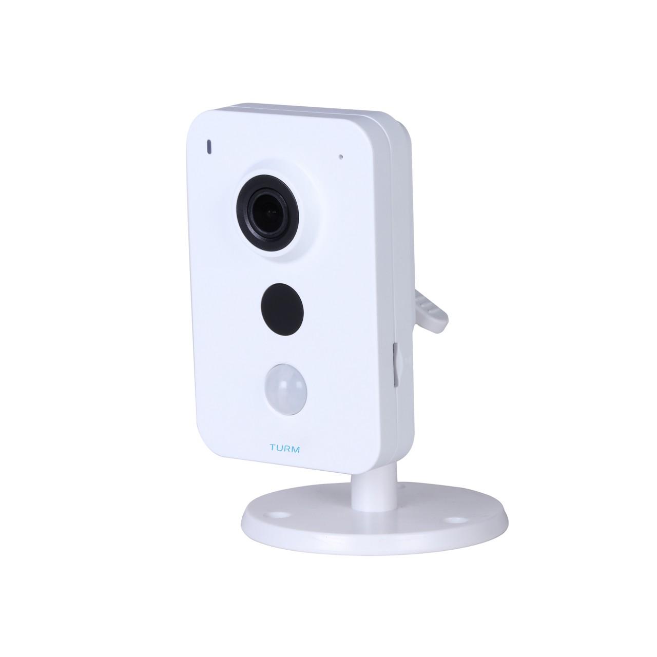 TURM WLAN Smart Home 3 MP IP Kamera mit Bewegungsmelder, 10m Nachtsicht, Micro SD und 100°