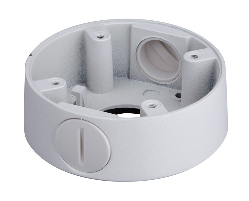 Verbindungsbox für Überwachungskameras mit Kabelmanagement