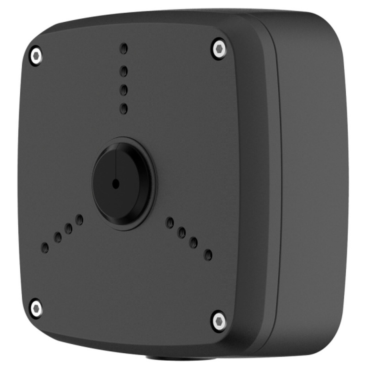 TURM witterungsfeste Anschlussbox IP66 aus Aluminum, Schwarz