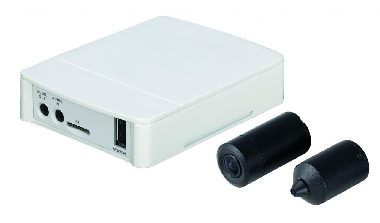 TURM IP Lite 2 MP Überwachungskamera mit Nadelöhr Objektiv und Micro SD Kartenslot