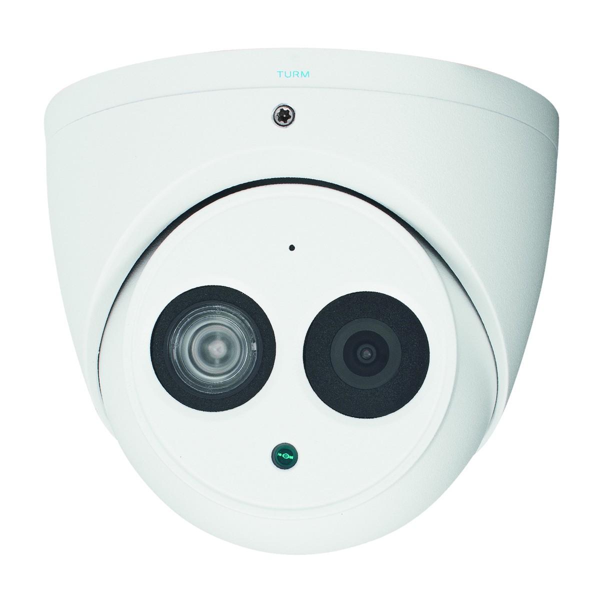 4MP IP Dome Kamera, 50m Nachtsicht, 2,8mm Weitwinkel Objektiv, IP67, IK10 Schutzklasse